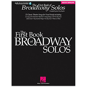 Hal-Leonard-First-Book-Of-Broadway-Solos-For-Mezzo-Soprano-Book-CD-Package-Standard
