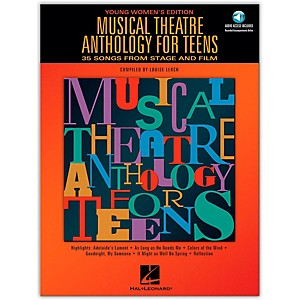Hal-Leonard-Musical-Theatre-Anthology-For-Teens---Young-Women-s-Edition-Book-2CD-s-Standard