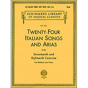G--Schirmer-24-Italian-Songs-And-Arias-For-Medium-Low-Voice-Book-Only-Standard