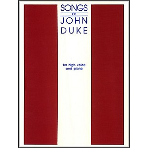G--Schirmer-Songs-Of-John-Duke-For-High-Voice-Standard