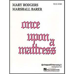 Hal-Leonard-Once-Upon-A-Mattress-Vocal-Score-Standard