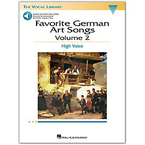 Hal-Leonard-Favorite-German-Art-Songs-For-High-Voice-Volume-2-Book-CD-Standard