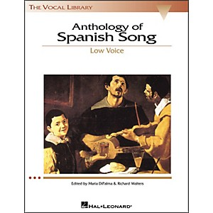 Hal-Leonard-Anthology-Of-Spanish-Songs-For-Low-Voice--The-Vocal-Library-Series--Standard