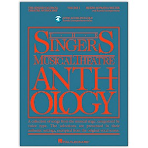 Hal-Leonard-Singer-s-Musical-Theatre-Anthology-For-Mezzo-Soprano---Belter-Volume-1-Book-2CD-s-Standard