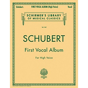 G--Schirmer-First-Vocal-Album-For-High-Voice---Piano--German---English--Standard
