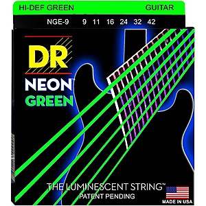 DR-Strings-NEON-Hi-Def-Green-SuperStrings-Light-Electric-Guitar-Strings-Standard