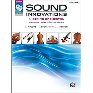 Alfred-Sound-Innovations-for-String-Orchestra-Book-1-Cello-Book-CD--DVD-Standard