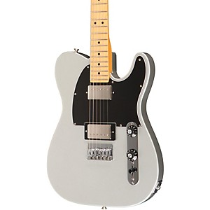 Fender-Blacktop-Telecaster-HH-Electric-Guitar--Maple-Fingerboard--Silver-Maple