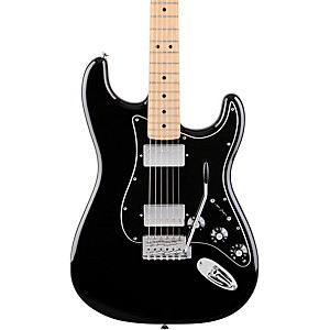 Fender-Blacktop-Stratocaster-HH-with-Maple-Fretboard-Electric-Guitar-Black-Maple