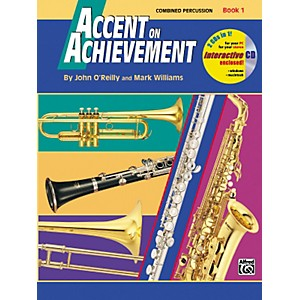 Alfred-Accent-on-Achievement-Book-1-Combined-PercussionS-D--B-D--Access----Mallet-Percussion-Book---CD-Standard
