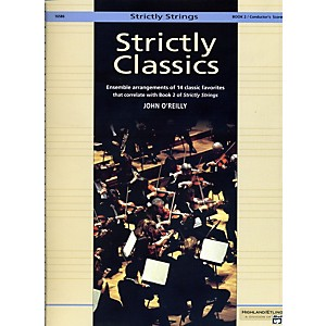 Alfred-Strictly-Classics-Book-2-Conductor-s-Score-Standard