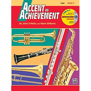 Alfred-Accent-on-Achievement-Book-2-Tuba-Book---CD-Standard