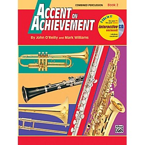 Alfred-Accent-on-Achievement-Book-2-Combined-PercussionS-D--B-D--Access--Timp----Mallet-Percussion-Book---C-Standard