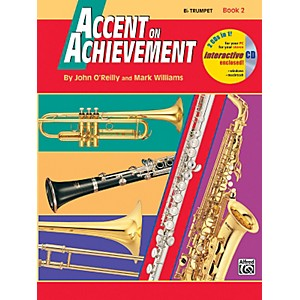 Alfred-Accent-on-Achievement-Book-2-B-Flat-Trumpet-Book---CD-Standard
