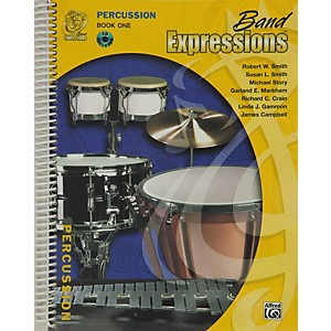 Alfred-Band-Expressions-Book-One-Student-Edition-Percussion-Book---CD-Standard