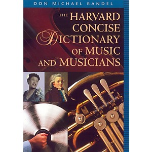 Alfred-Harvard-Concise-Dictionary-of-Music-and-Musicians-9--x-6-1-4--Format-Standard