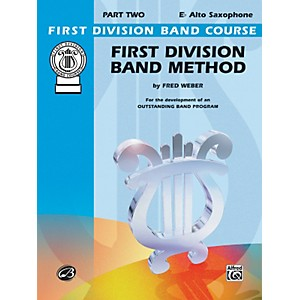 Alfred-First-Division-Band-Method-Part-2-E-Flat-Alto-Saxophone-Standard
