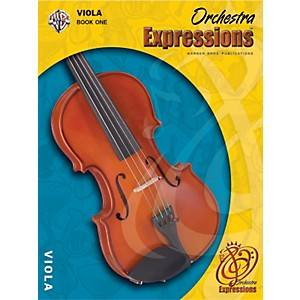 Alfred-Orchestra-Expressions-Book-One-Student-Edition-Viola-Book---CD-1-Standard