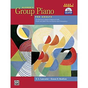 Alfred-Alfred-s-Group-Piano-for-Adults-Student-Book-1--2nd-Edition--Book-1-with-CD-ROM-Standard