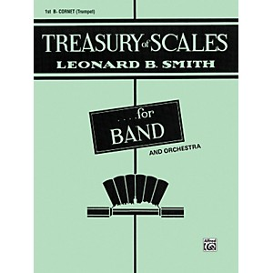 Alfred-Treasury-of-Scales-for-Band-and-Orchestra-1st-B-Flat-Cornet-Standard