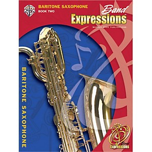 Alfred-Band-Expressions-Book-Two-Student-Edition-Baritone-Saxophone-Book---CD-Standard