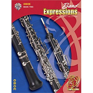 Alfred-Band-Expressions-Book-Two-Student-Edition-Oboe-Book---CD-Standard