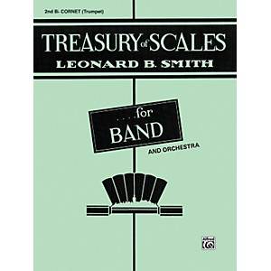 Alfred-Treasury-of-Scales-for-Band-and-Orchestra-2nd-B-Flat-Cornet-Standard