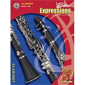Alfred-Band-Expressions-Book-Two-Student-Edition-Clarinet-Book---CD-Standard