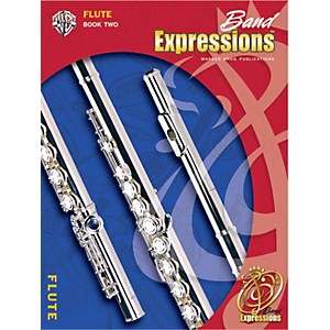 Alfred-Band-Expressions-Book-Two-Student-Edition-Flute-Book---CD-Standard
