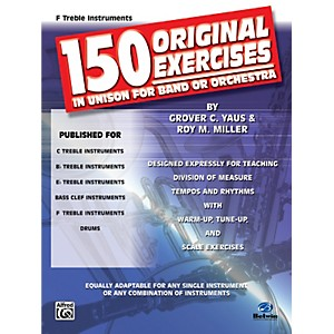 Alfred-150-Original-Exercises-in-Unison-for-Band-or-Orchestra-F-Treble-Instruments-Standard