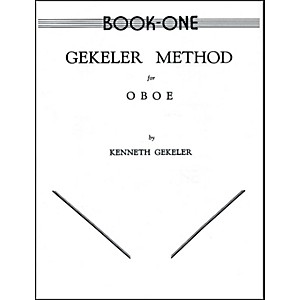 Alfred-Gekeler-Method-for-Oboe-Book-I-Standard