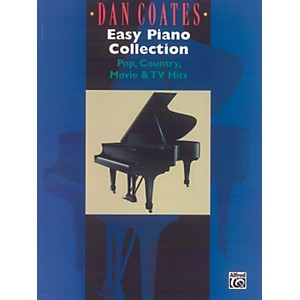 Alfred-Dan-Coates-Easy-Piano-Collection--Pop-Country-Movie---TV-Hits--Standard