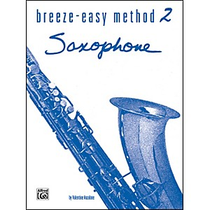 Alfred-Breeze-Easy-Method-for-Saxophone-Book-II-Standard