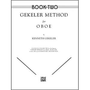 Alfred-Gekeler-Method-for-Oboe-Book-II-Standard