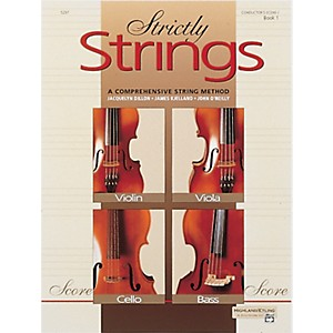Alfred-Strictly-Strings-Book-1-Conductor-s-Score-Standard