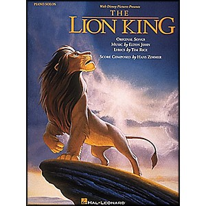 Hal-Leonard-The-Lion-King-Piano-Solos-Standard