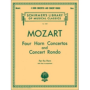 G--Schirmer-Four-Horn-Concertos-And-Concert-Rondo-For-The-Horn-With-Piano-Accompaniment-Standard