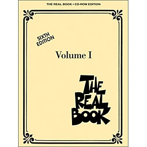 Hal-Leonard-The-Real-Book-Volume-1-Sixth-Edition-C-Instruments-CD-Rom-Pkg-Standard