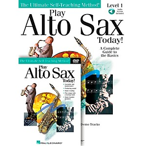 Hal-Leonard-Play-Alto-Sax-Today--Beginner-s-Pack---Includes-Book-CD-DVD-Standard