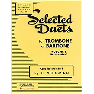 Hal-Leonard-Rubank-Selected-Duets-Trombone-Or-Baritone-Vol-1-Easy-Medium-Standard