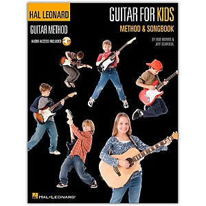 Hal-Leonard-Guitar-for-Kids-Method---Songbook---Hal-Leonard-Guitar-Method--Book-CD--Standard