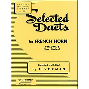 Hal-Leonard-Rubank-Selected-Duets-French-Horn-Vol-1-Easy-Medium-Standard