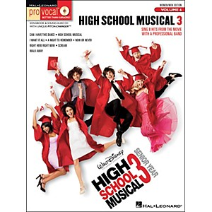Hal-Leonard-High-School-Musical-3---Pro-Vocal-Series-Vol--6-For-Women-Men-Songbook---CD-Standard