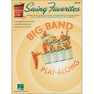Hal-Leonard-Swing-Favorites-Big-Band-Play-Along-Vol--1-Alto-Sax-Book-CD-Standard