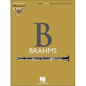 Hal-Leonard-Brahms--Clarinet-Sonata-In-F-Minor--Op-120--No-1---Classical-Play-Along--Book-CD--Vol-19-Standard