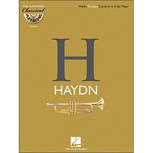 Hal-Leonard-Haydn--Trumpet-Concerto-In-E-Flat-Major-Classical-Play-Along-Book-CD-Vol--5-Standard