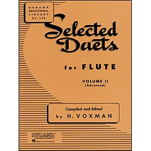 Hal-Leonard-Rubank-Selected-Duets-For-Flute-Vol-2-Advanced-Standard