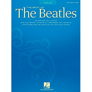 Hal-Leonard-Best-Of-The-Beatles---2nd-Edition-for-Violin-Standard