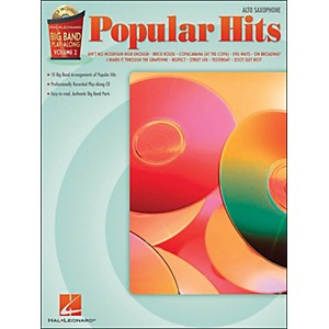 Hal-Leonard-Popular-Hits-Big-Band-Play-Along-Volume-2-Alto-Sax-Book-CD-Standard
