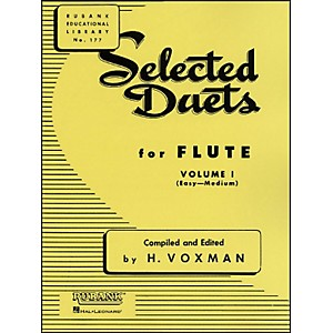 Hal-Leonard-Rubank-Selected-Duets-For-Flute-Vol-1-Easy-Medium-Standard